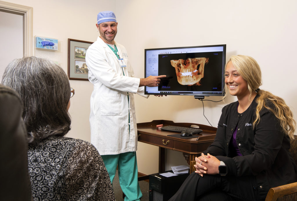 Implant-Retained Denture consultation