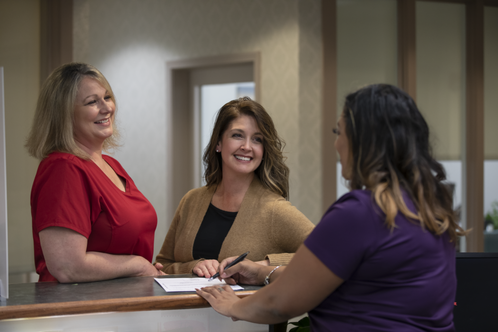Rockcliff oral surgery check-in